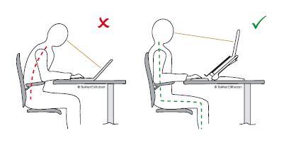 Een goede zithouding - Kabri Ergonomie
